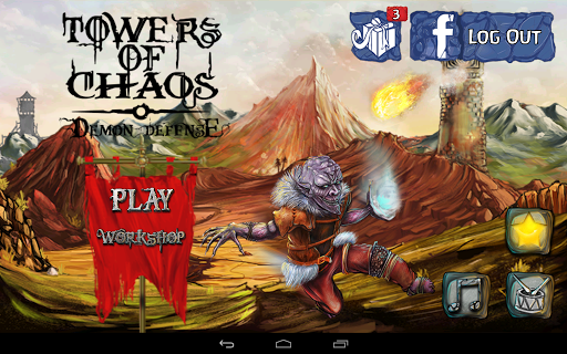 Download Towers of Chaos- Demon Defense v1.2.0 Mod Apk Apk Android