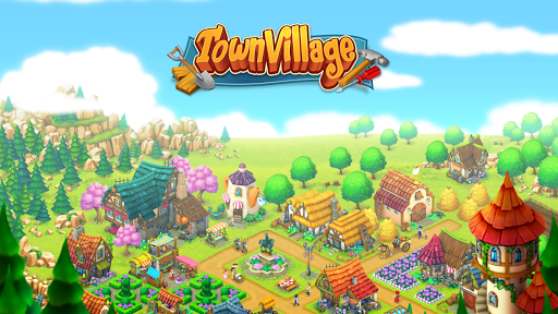 Town Village: Farm, Build, Trade, Harvest City v1.24 (Mod Apk)