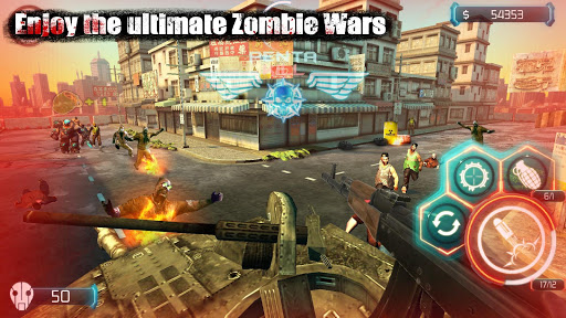 Zombie Invasion:Dead City HD