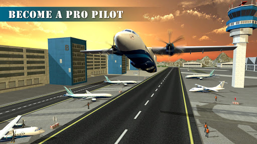 Free Airplane Pilot Training Academy Flight Simulator v1.0.3 (Mod Apk Money) Android App