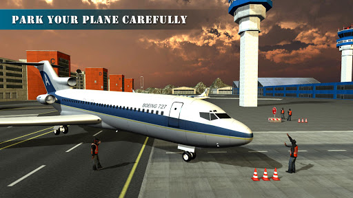 Airplane Pilot Training Academy Flight Simulator