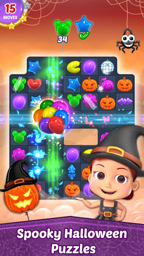Balloon Paradise - Free Match 3 Puzzle Game