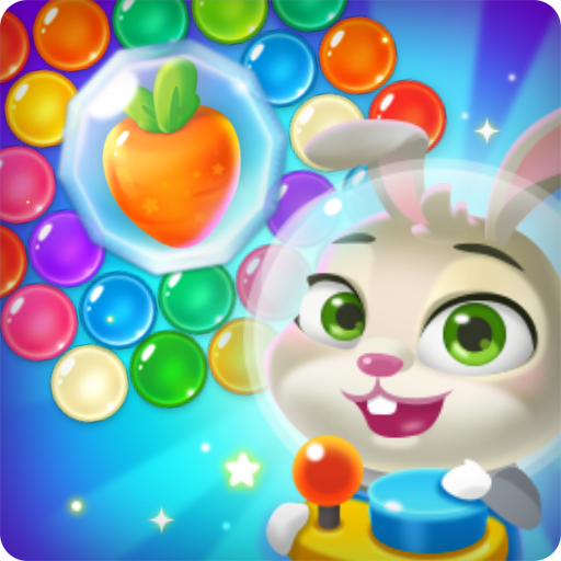 Bubble spinner: space bunny