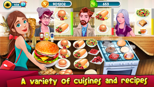 Cooking Games Kitchen Rising : Cooking Chef Master