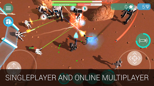 Download Gratis CyberSphere: Online Sci-fi shooter v1.3.4 (Mod Apk Gems) Android App