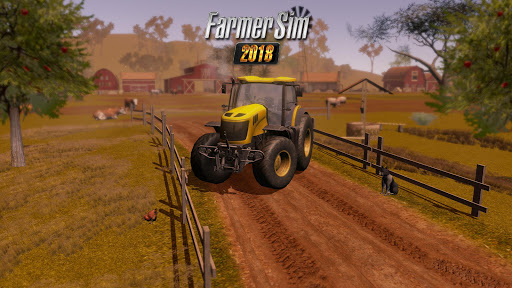 Download Farmer Sim 2018 v1.0.1 (Mod Apk Money) Apk