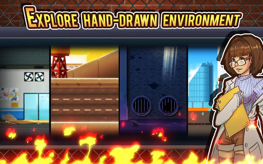 Fist of Rage : 2D Battle Platformer