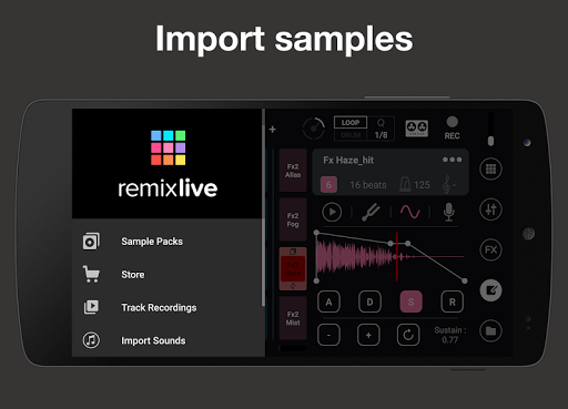 Remixlive - drum & play loops