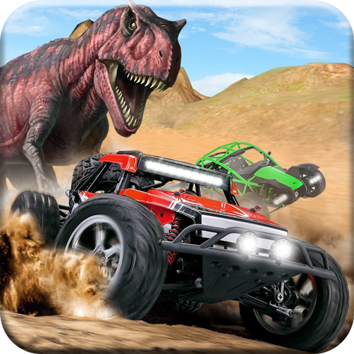 Dino World Car Racing