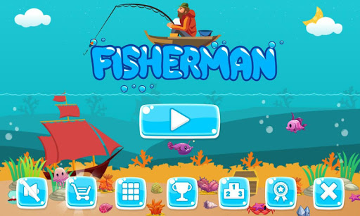 Unduh Gratis Fishing for children and the underwater world game v2.6 (Mod Apk Money) Apk