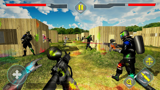 Unduh Gratis Paintball Shooting Arena: Real Battle Field Combat v1.1.1 Mod Apk (Unlocked) Apk Android