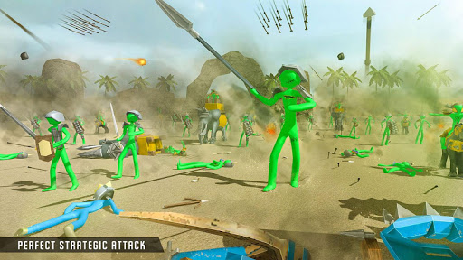 Stickman Castle Defense - Zombie Battle Simulator