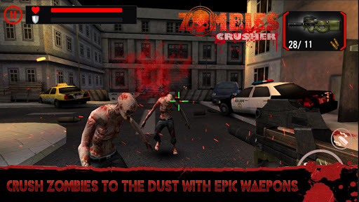 Zombie Crushers: FPS Virus Walking Dead Shooter