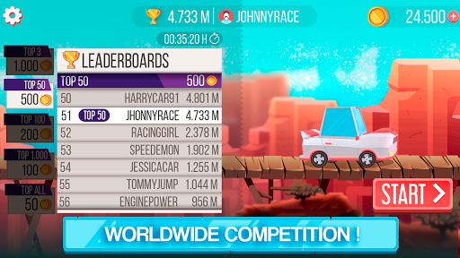Drag 'n' Jump - Online leaderboards (Unreleased)