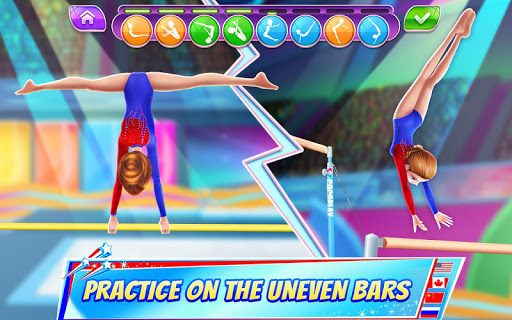 Gymnastics Superstar - Get a Perfect 10!