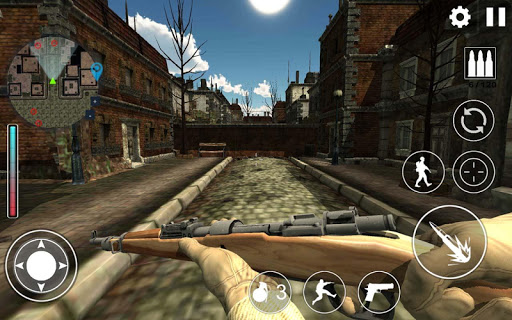 World War 2 : WW2 Secret Agent FPS