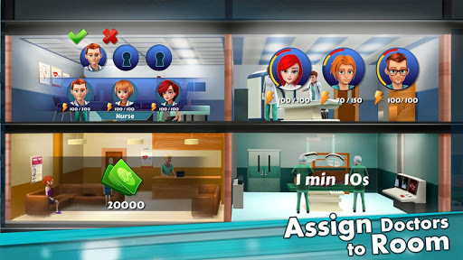 Hospital Manager - Doctor & Surgery Game
