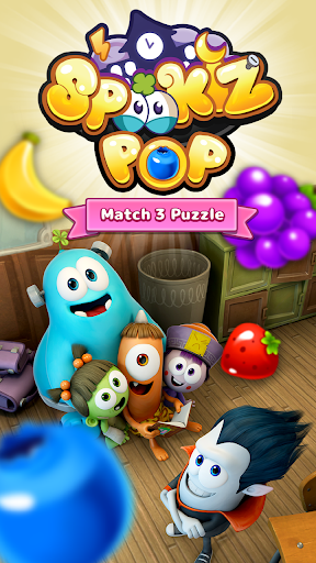 SPOOKIZ POP - Match 3 Puzzle