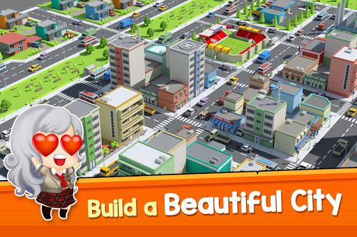 City Growing-Time in the City ( Idle game )