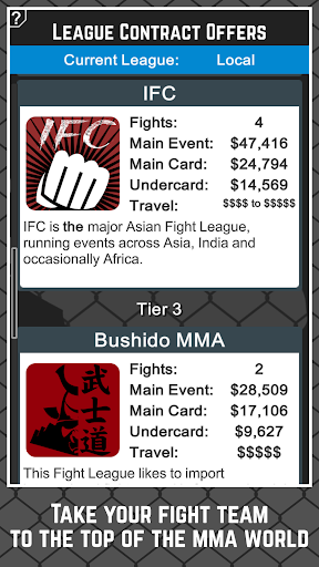 MMA Manager Free