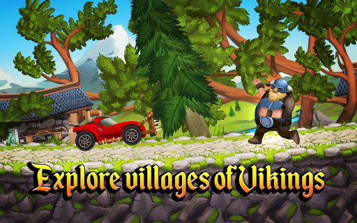Viking Legends: Funny Car Race Game
