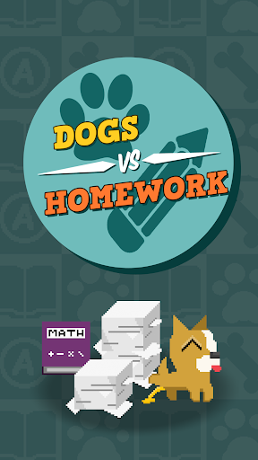Dogs Vs Homework - Clicker Idle Game