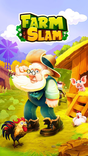 Farm Slam - Match-3, Build & Decorate Your Estate!
