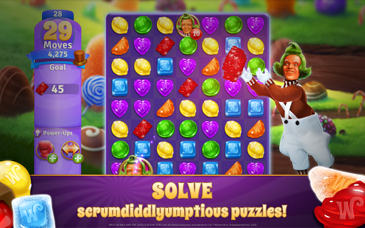 Willy Wonka's Sweet Adventure – A Match 3 Game