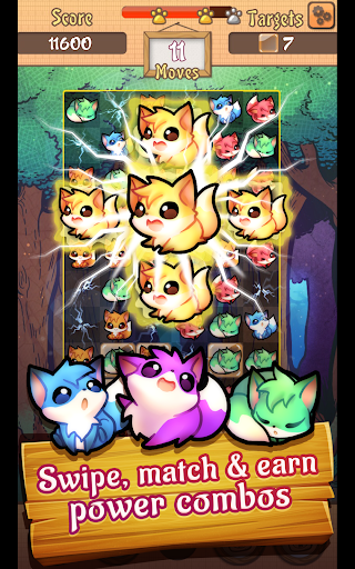 Fox Pop - Match 3 Puzzle Game