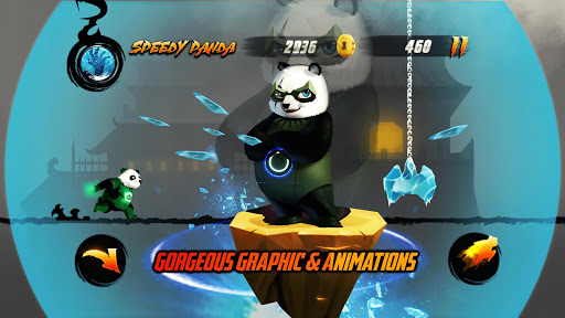 Speedy Panda: Dragon Warrior