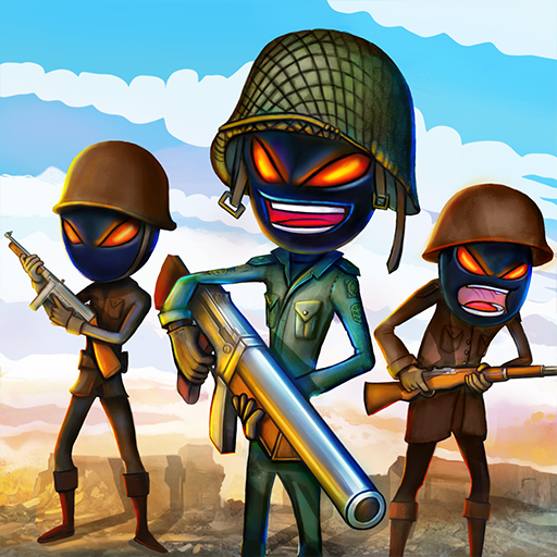 Stickman Royale: World War Battle