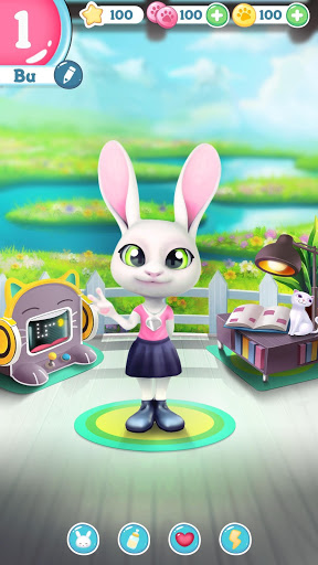 Bu the Baby Bunny - Cute pet care game