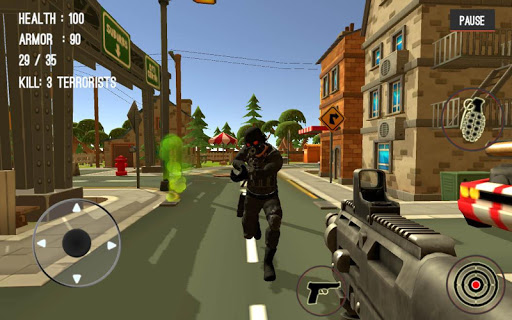 Counter Attack Terrorist City