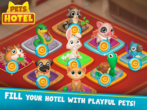 Pets Hotel: Idle Management & Incremental Clicker