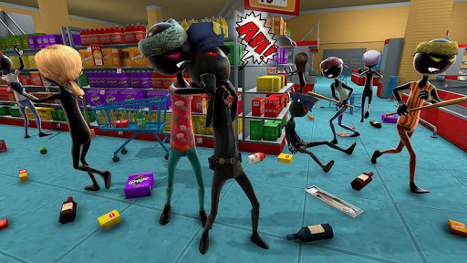 Shadow Gangster War : Stickman Killer Game