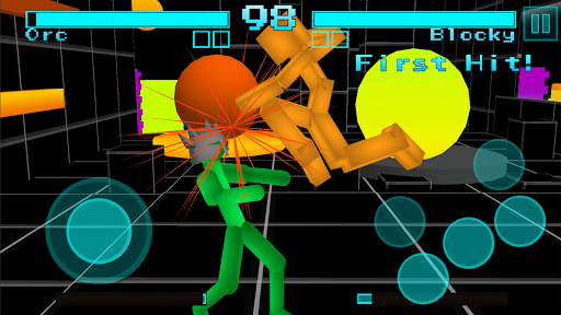 Stickman Fighting: Neon Warriors