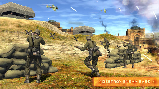 World War 2 Counter Shooter Battleground Survival