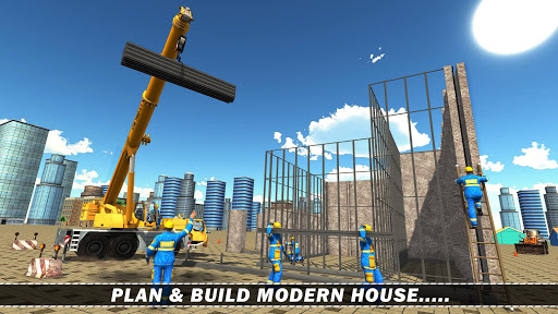 Modern House Construction 3D