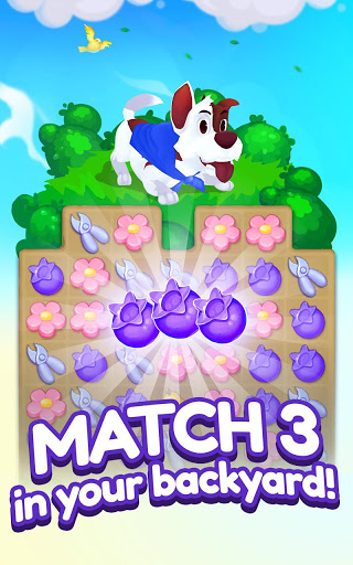 Backyard Bash: New Match 3 Pet Game