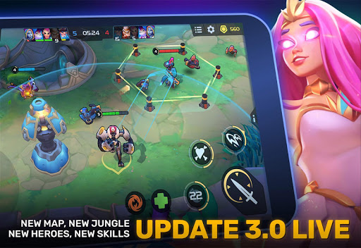 Planet of Heroes - MOBA 5v5