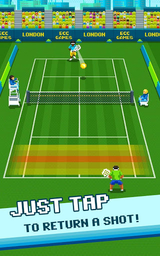 Super One Tap Tennis