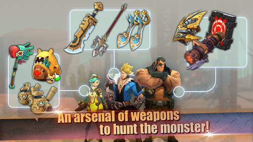 Hunters League : The story of weapon masters