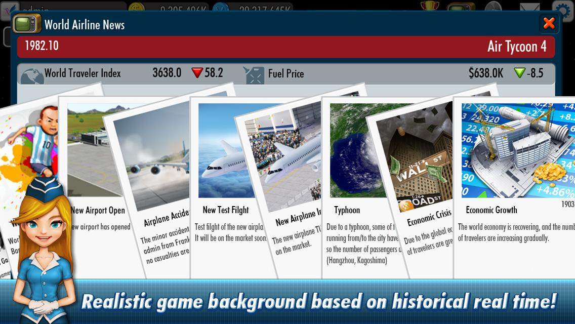 AirTycoon 4 Apk image3