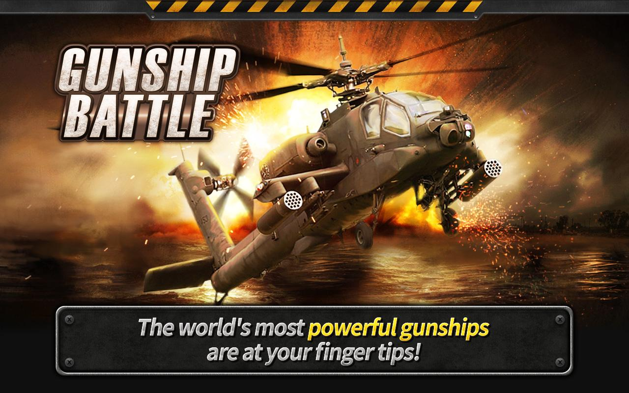 GUNSHIP BATTLE Helicopter 3D1