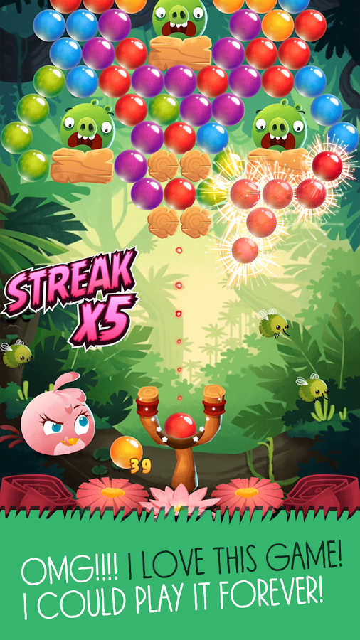 Angry Birds POP Bubble Shooter4