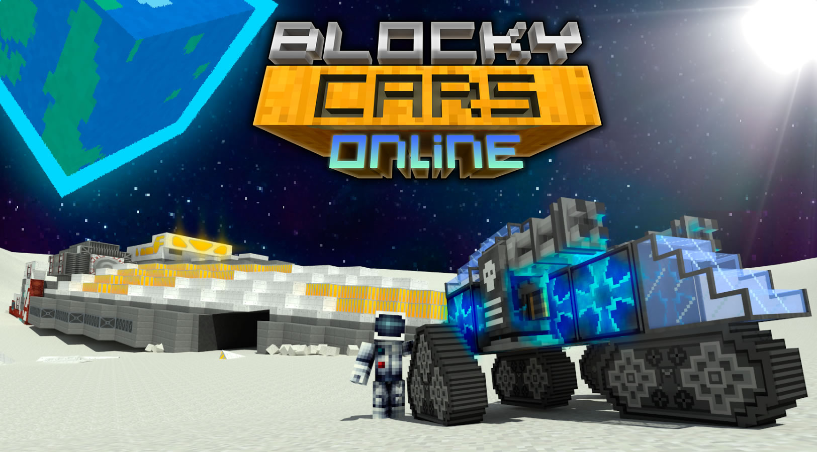 Blocky Cars Online1