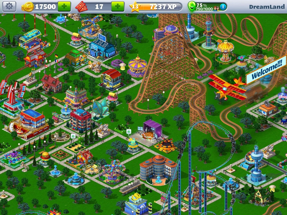 RollerCoaster Tycoon® 4 Mobile 4