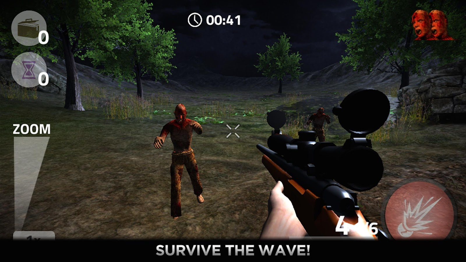Zombie Shooter Gun Dead Killer 4