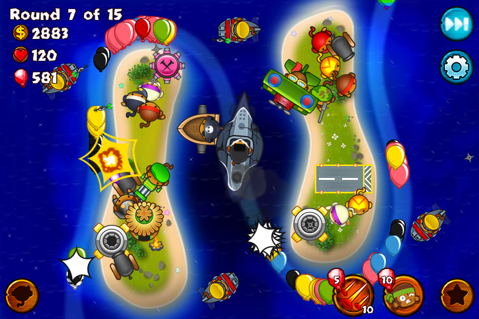 Bloons Monkey City 2