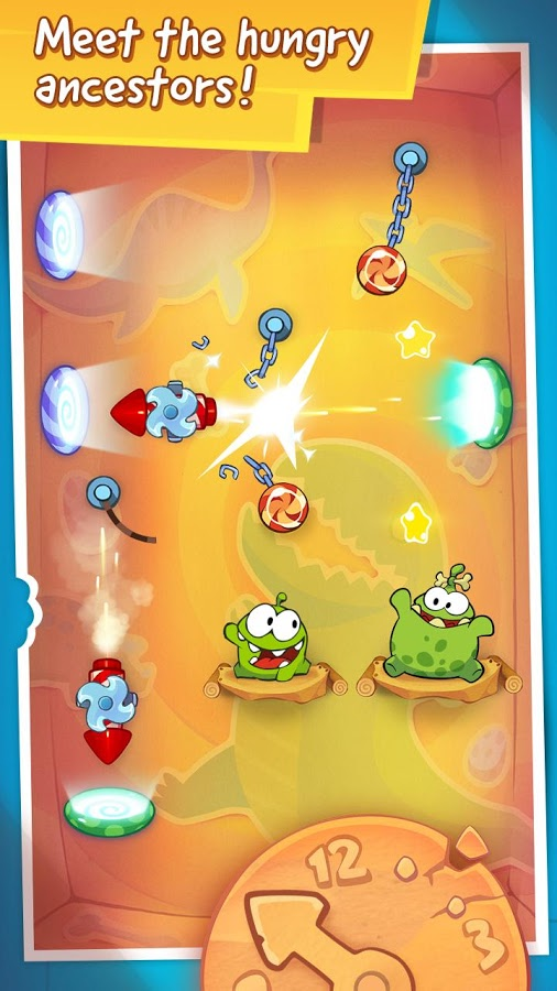 Cut the Rope Time Travel HD 4
